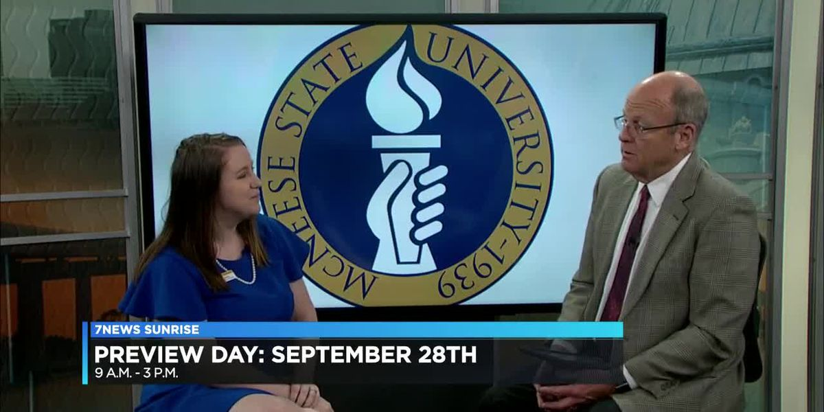 KPLC 7 News Sunrise - McNeese Preview Day Interview - Sept. 19, 2019