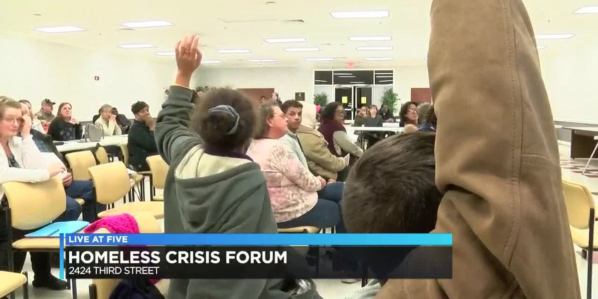 "Diverse cross-section of community discuss solutions at ""Housing & Homeless Crisis Forum"""