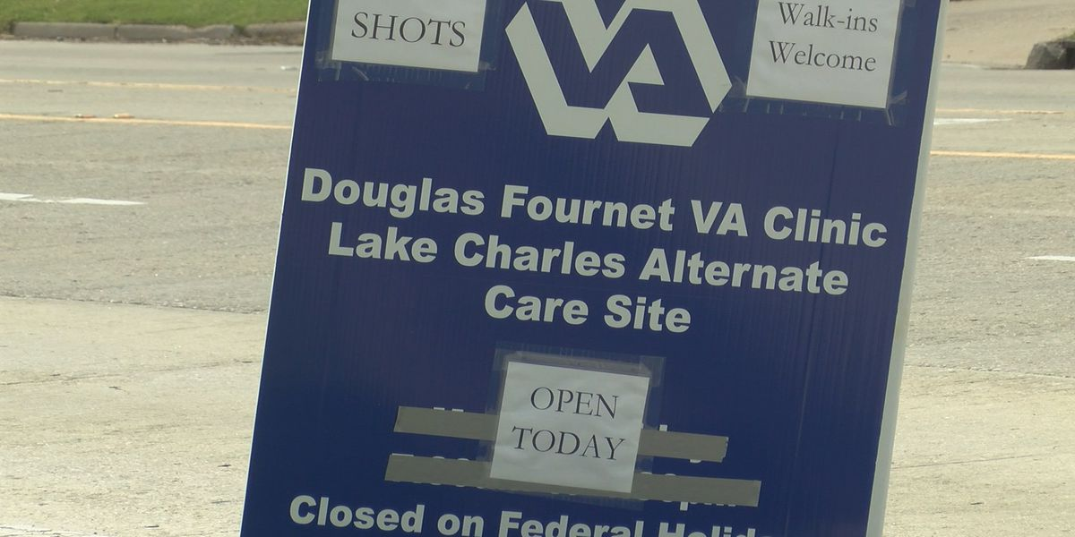 Douglas Fournet VA Clinic mobilizes most of its services in the wake of Hurricane Laura