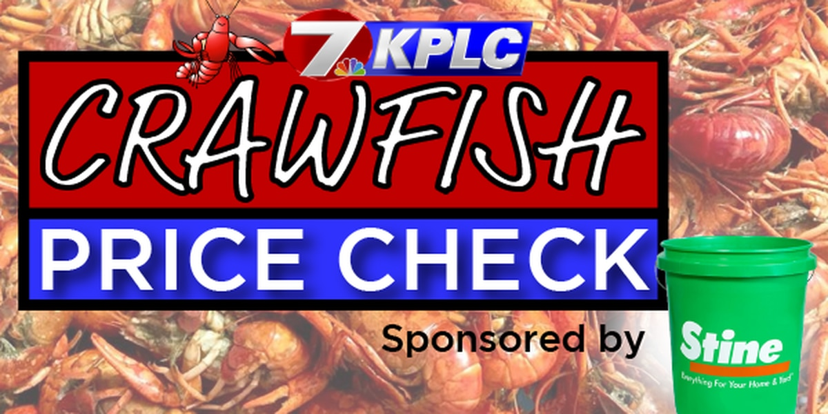KPLC's 2020 Crawfish Price Check