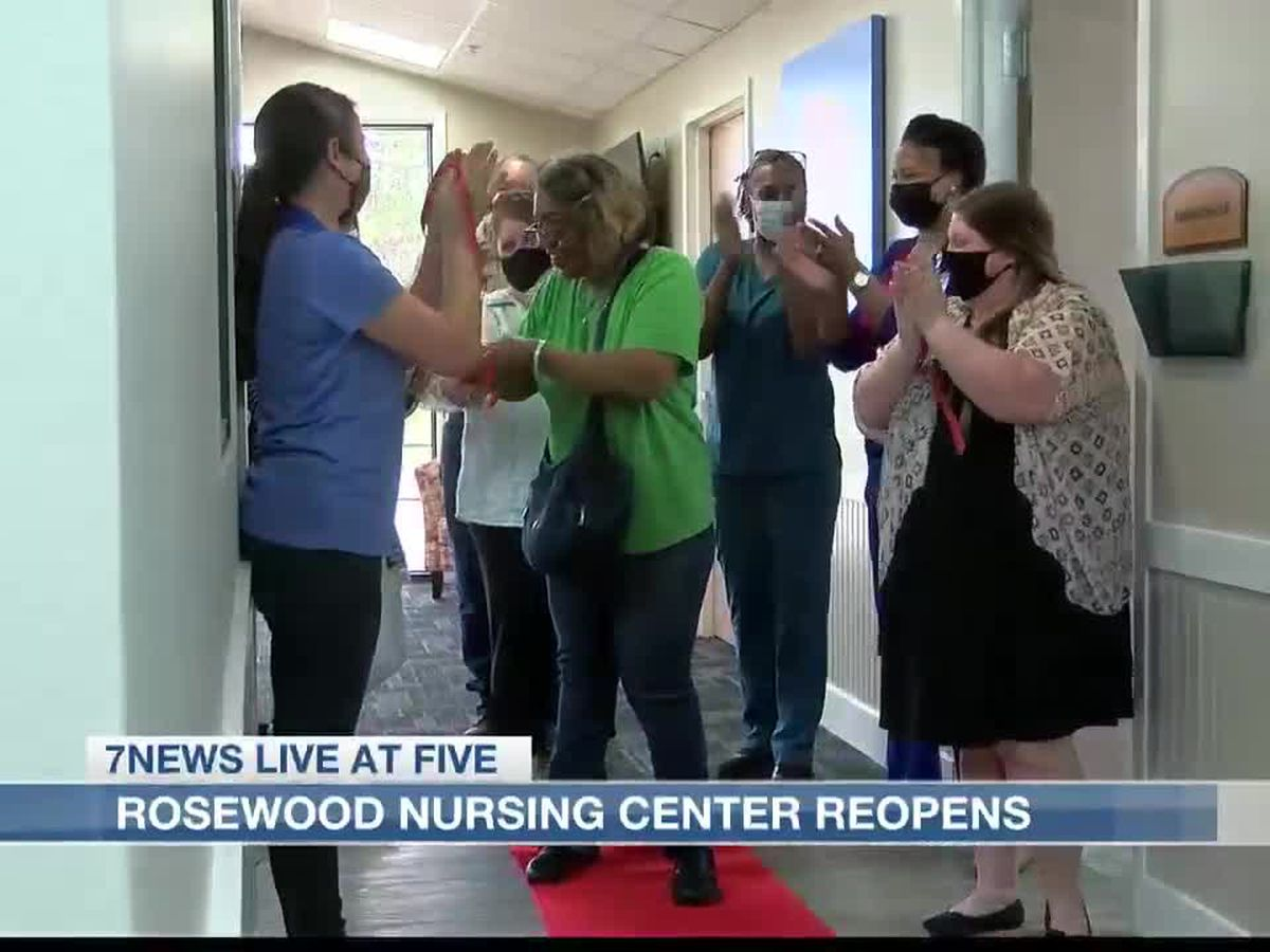 Rosewood Nursing Center reopens after 9 months