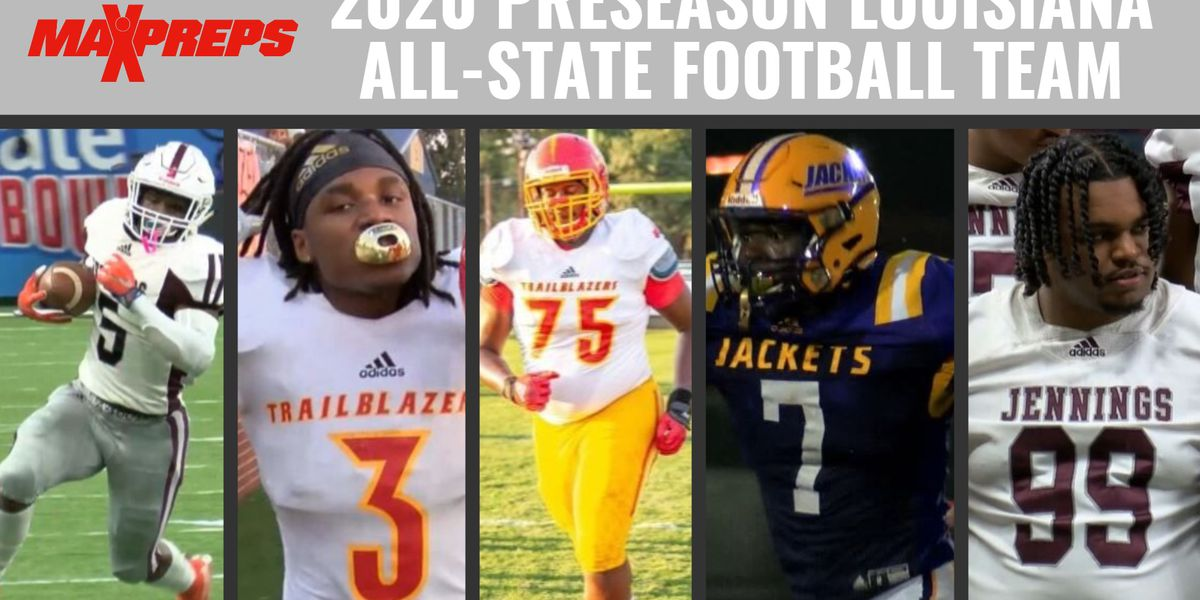 Five SWLA football players named to Maxpreps preseason All-Louisiana football team