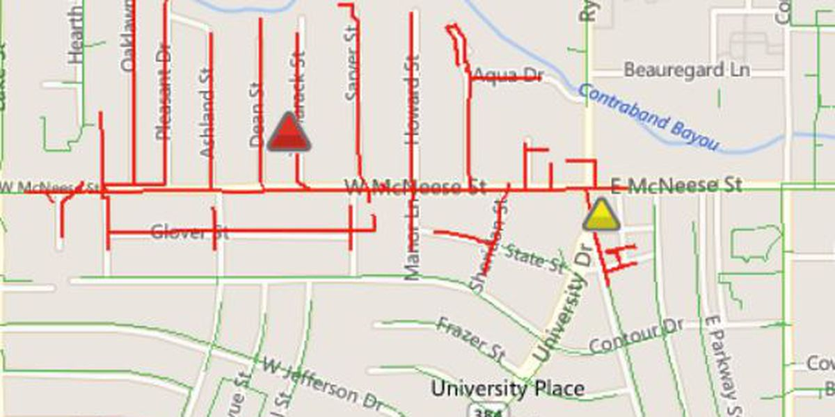 Power restored to over 500 in Lake Charles