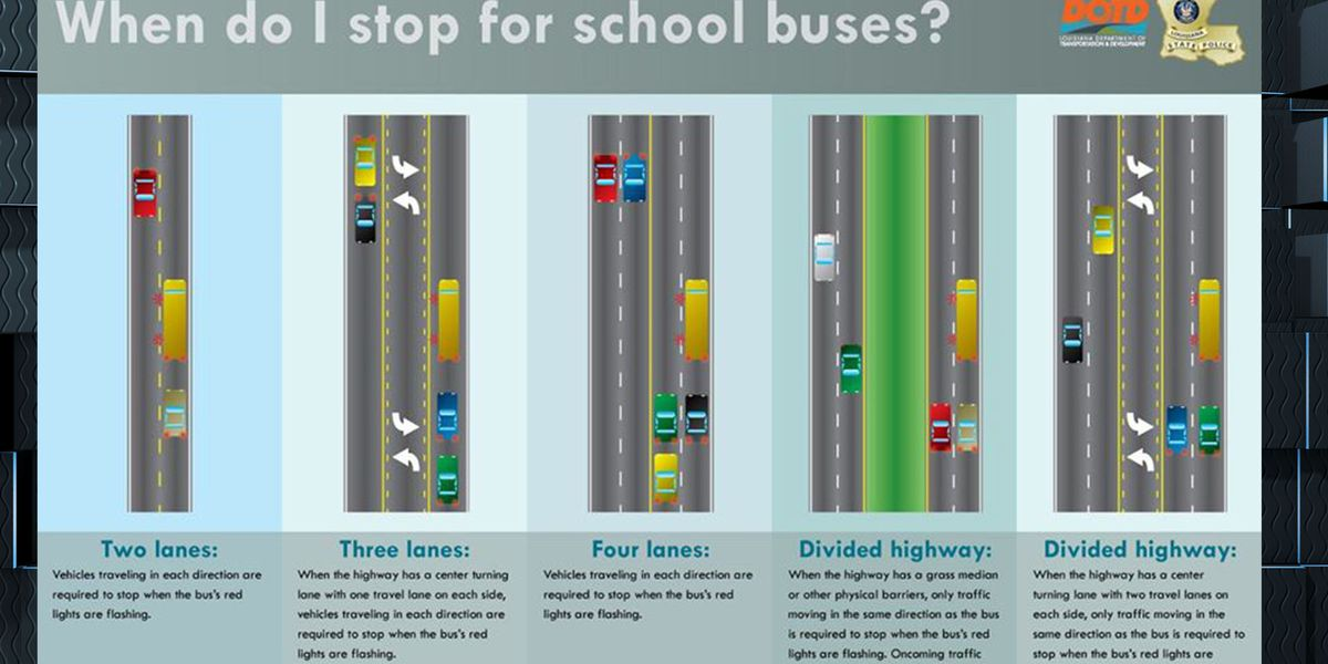 BACK-TO-SCHOOL: Driving safety tips from Louisiana State Police