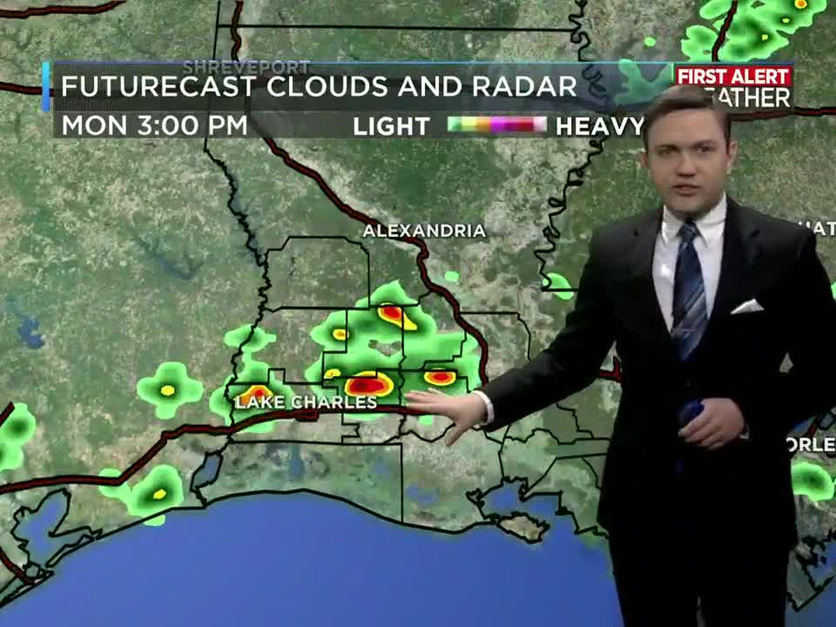 First Alert Forecast: Showers and storms today, but the sunshine returns tomorrow