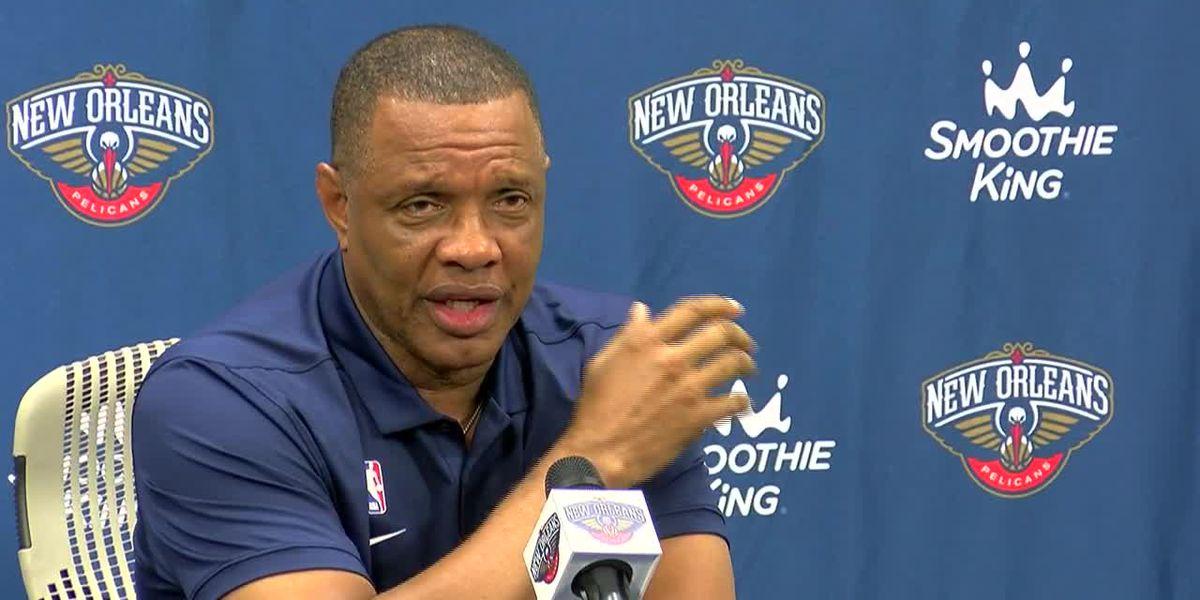 Pelicans fire head coach Alvin Gentry