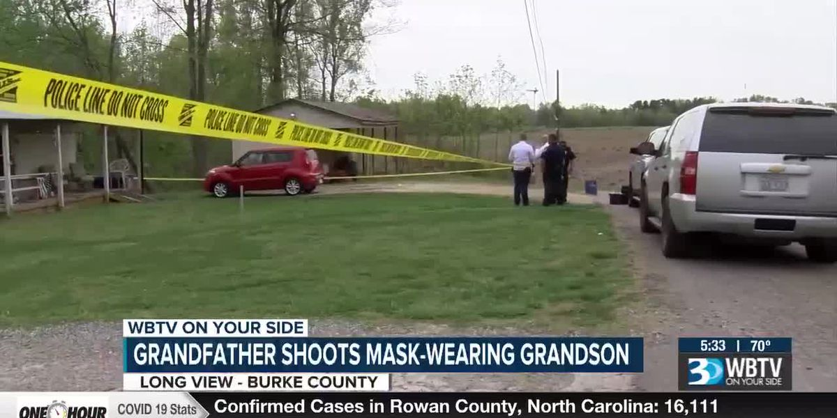 Man shoots mask-wearing grandson during home invasion in N.C.
