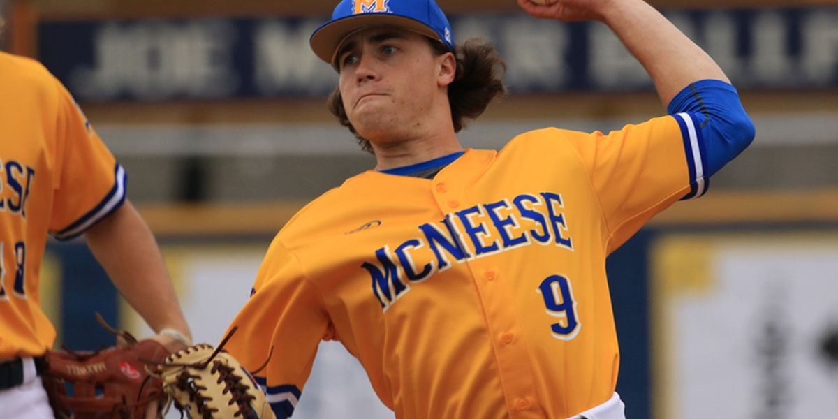 McNeese pitcher Bryan King drafted by the Chicago Cubs