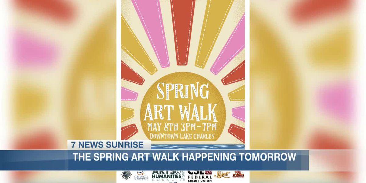Spring Art Walk making its way back to Lake Area Saturday