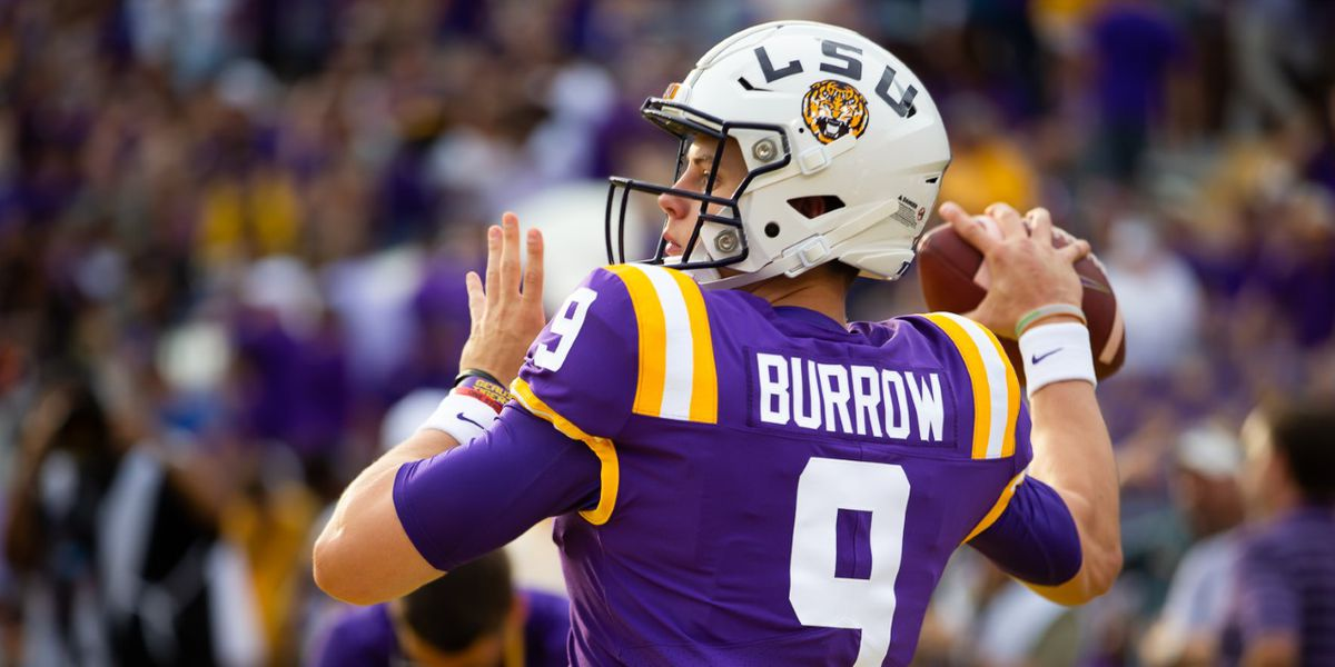 Joe Burrow Drops 6 More Touchdowns As LSU Routs Vandy 66-38