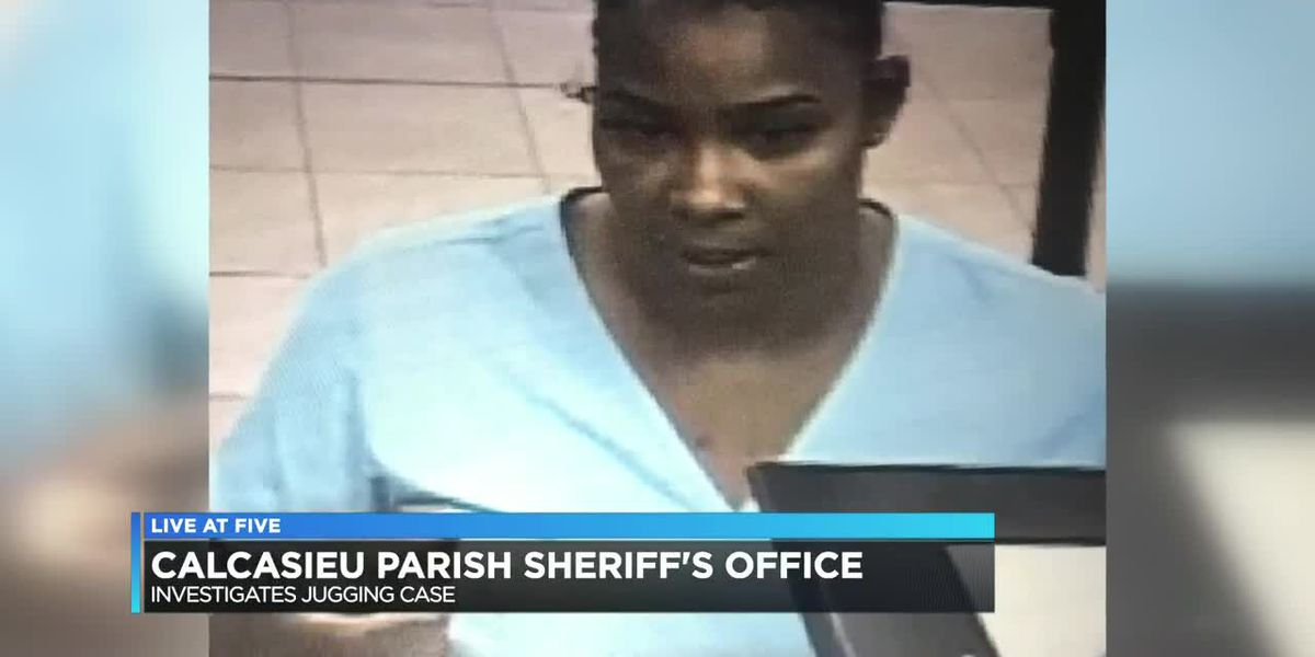 Calcasieu Parish Sheriff's Office searching for jugging suspect