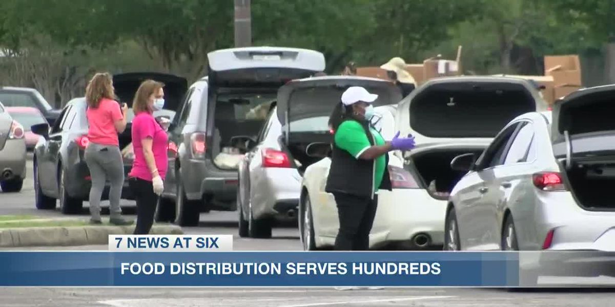 United Way of SWLA and Second Harvest Food Bank serves hundreds of families