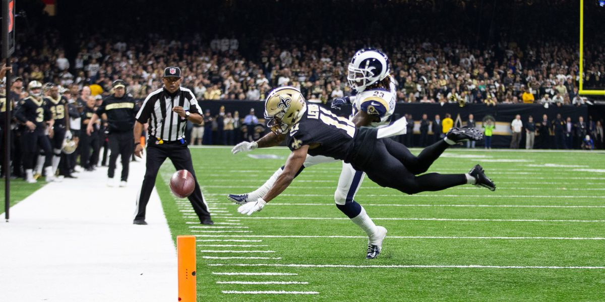 """NOLA no-call"" will be a hot topic at the NFL Owners' Meetings this week in Phoenix"