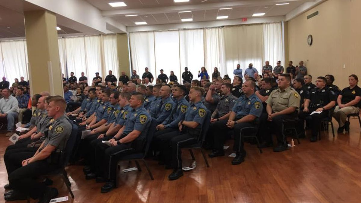 55 graduate from Calcasieu law enforcement training academy