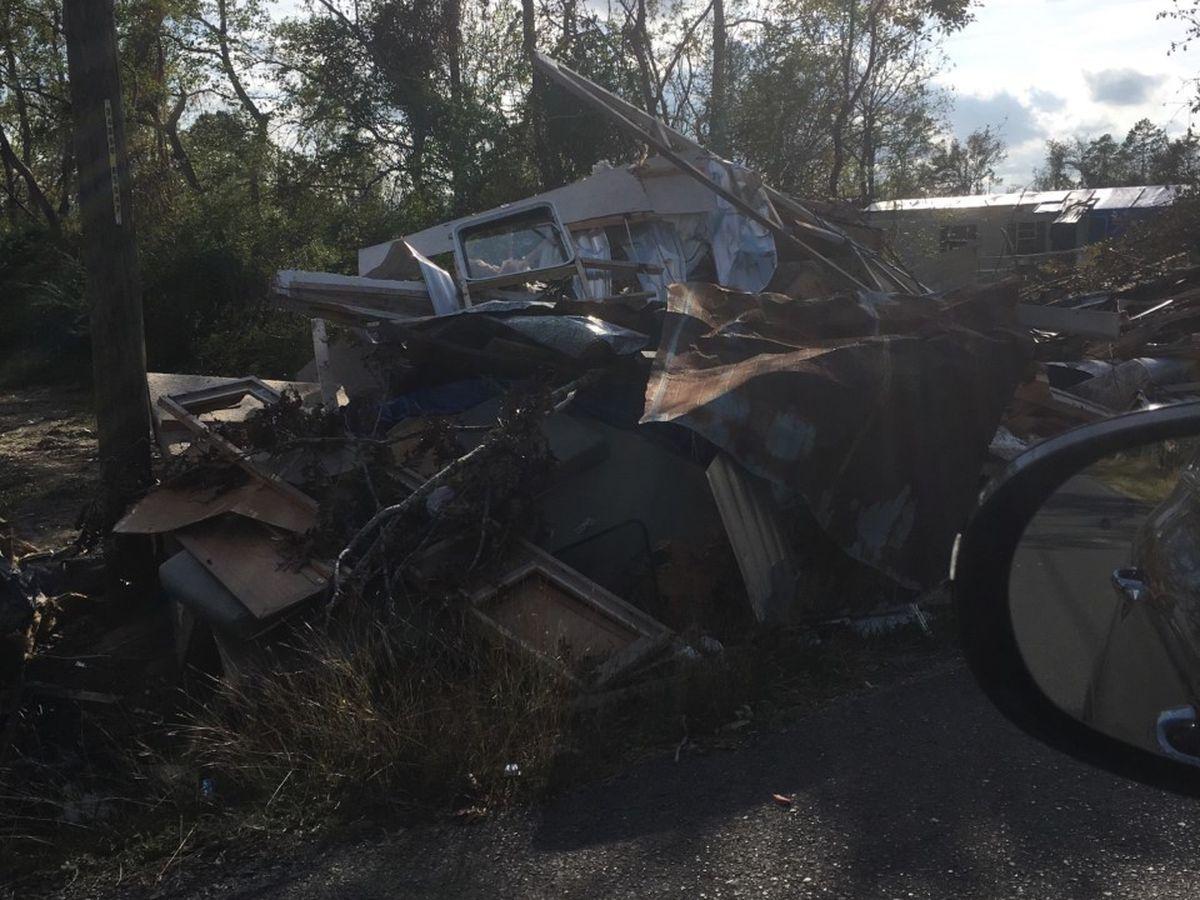 Calcasieu Parish beginning second pass of debris pickup