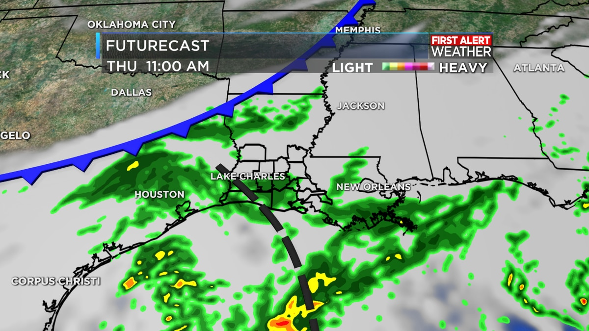 FIRST ALERT FORECAST: Cool and cloudy with showers on the way through the morning hours