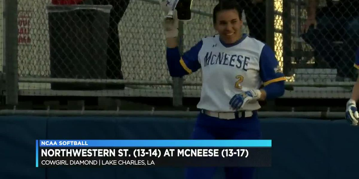 McClain moves up to second in career hits as McNeese downs Northwestern State