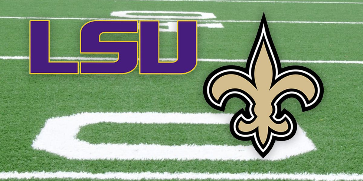 KPLC to rebroadcast historic LSU, Saints games