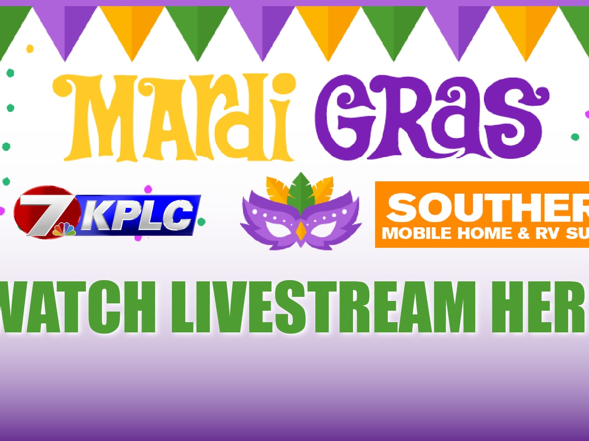 SWLA Mardi Gras Livestream: Children's Parade at 3:30 p.m. Sunday