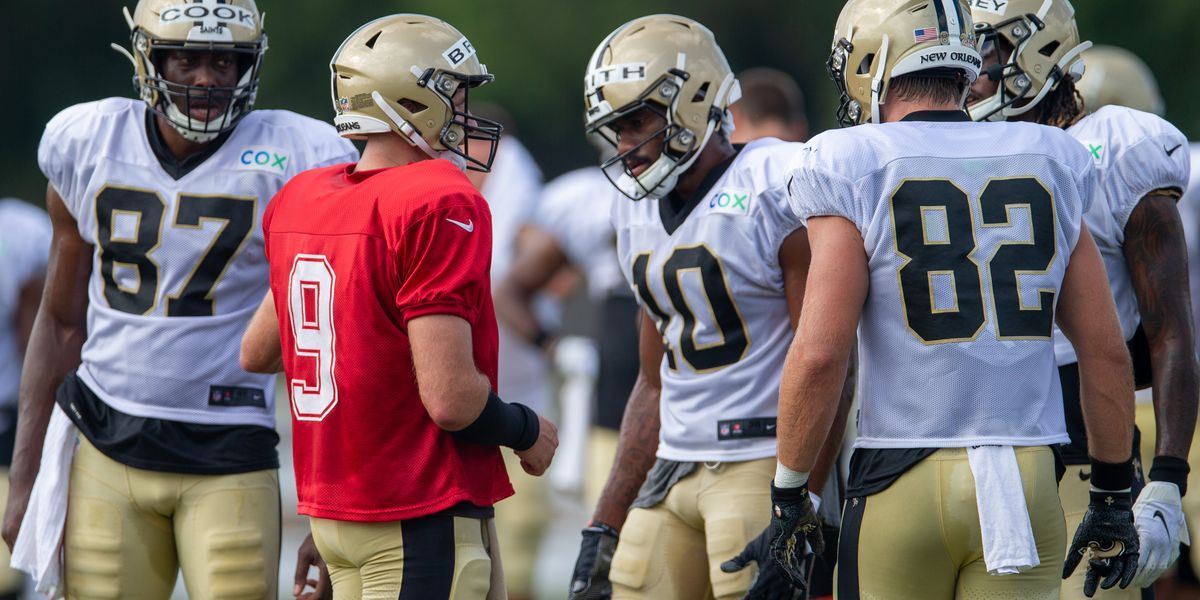 Cook relishing another year with Brees as his QB
