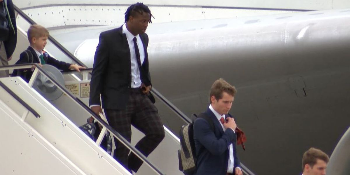 Clemson arrives in New Orleans ahead of CFP National Championship