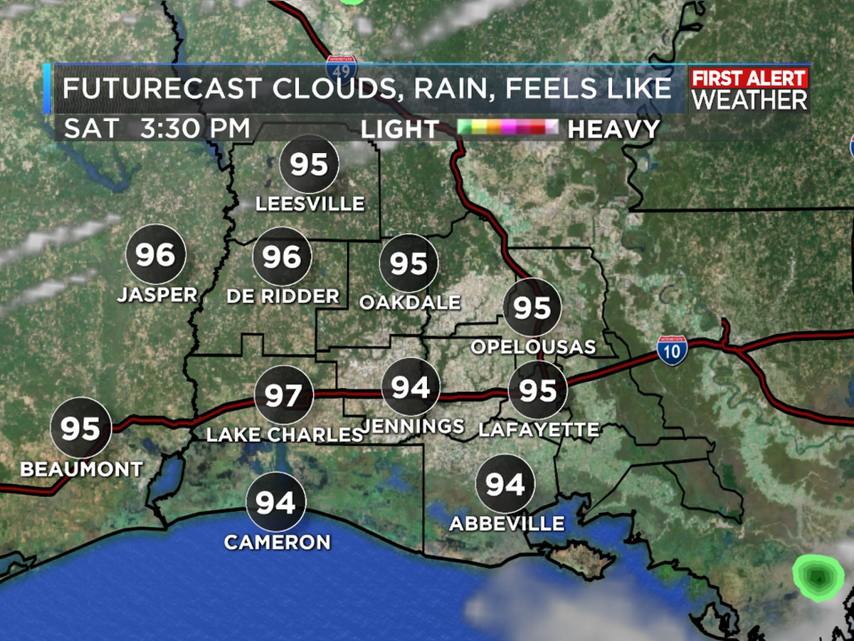 FIRST ALERT FORECAST: Hot start to the weekend, no tropical worries for Southwest Louisiana!