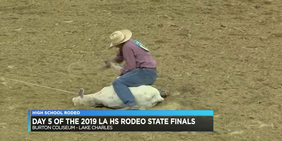 2019 Louisiana High School Finals Rodeo results