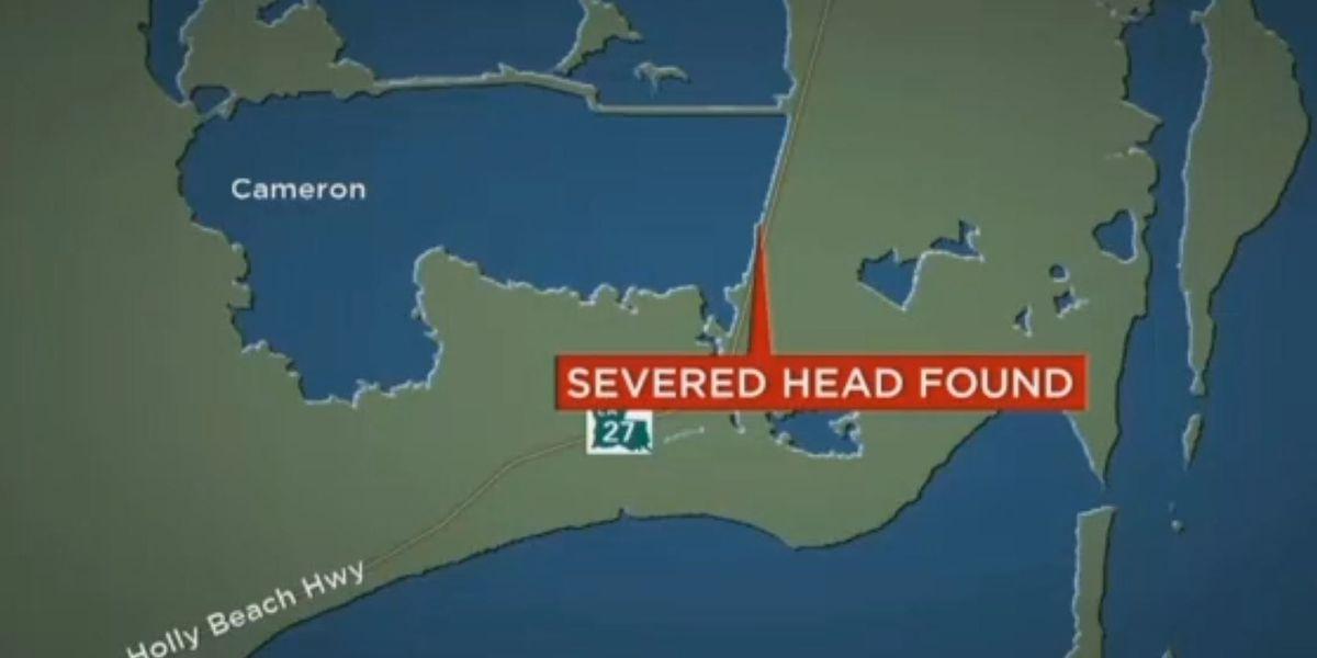 Severed head found on side of LA highway