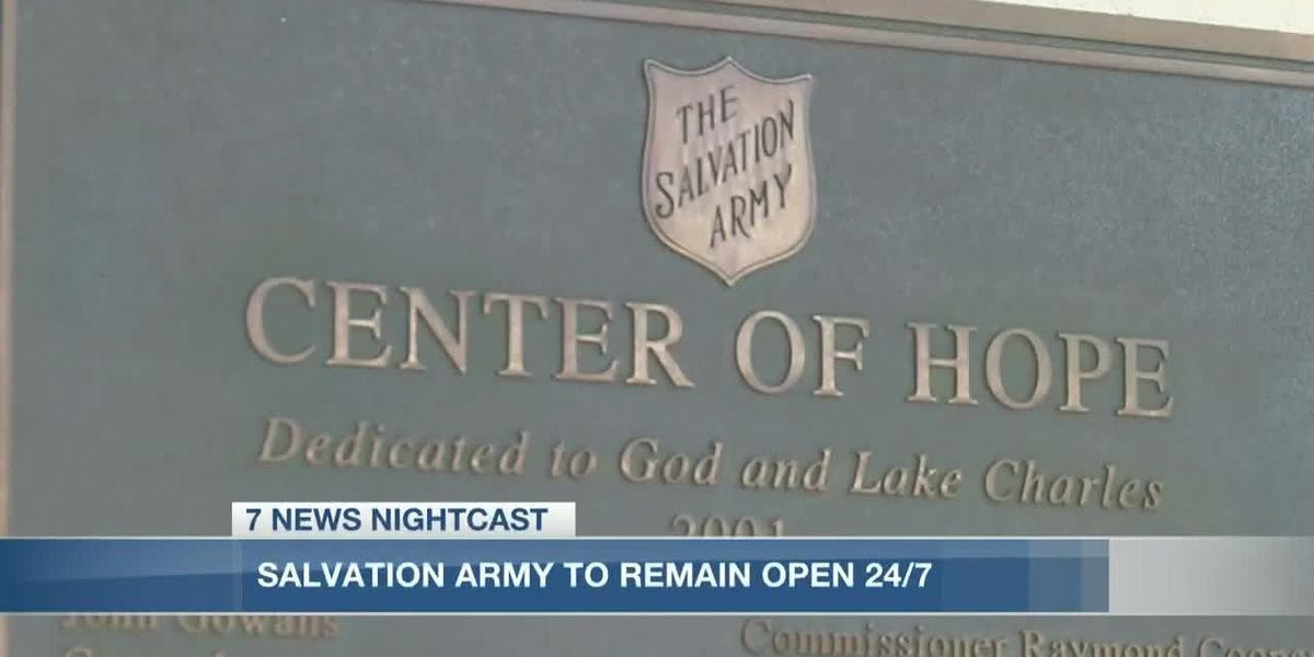 Salvation Army Lake Charles men's shelter to stay open 24/7