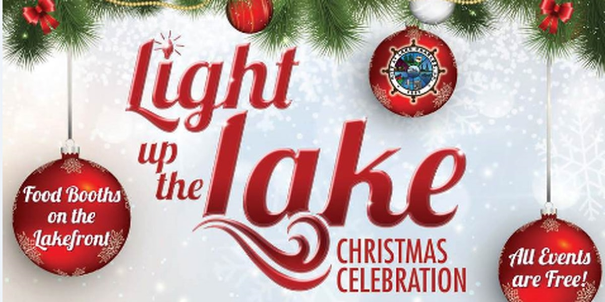Light Up the Lake Christmas Celebration Saturday evening in downtown Lake Charles