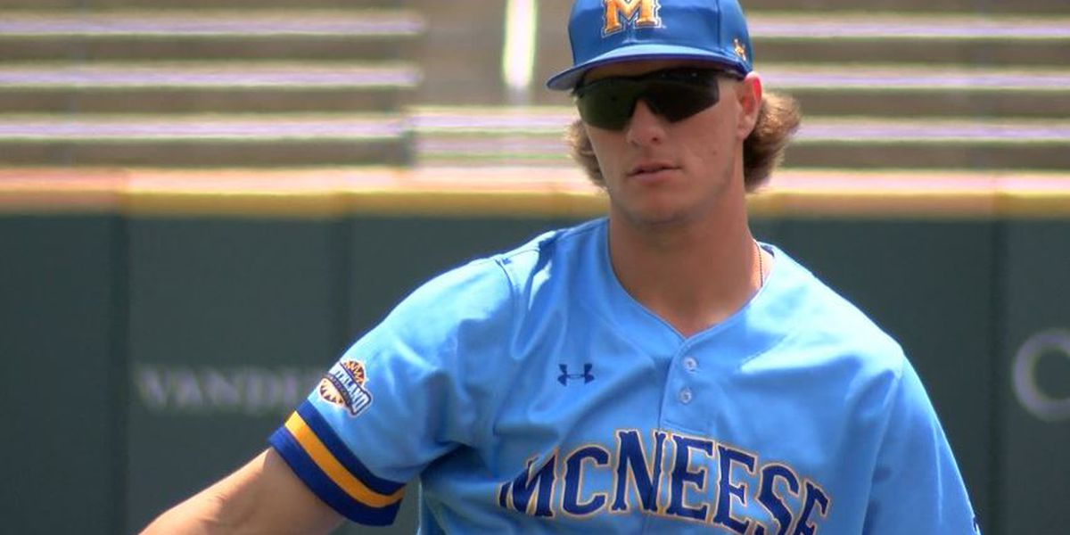 Carson Maxwell becomes McNeese's first-ever gold glove winner
