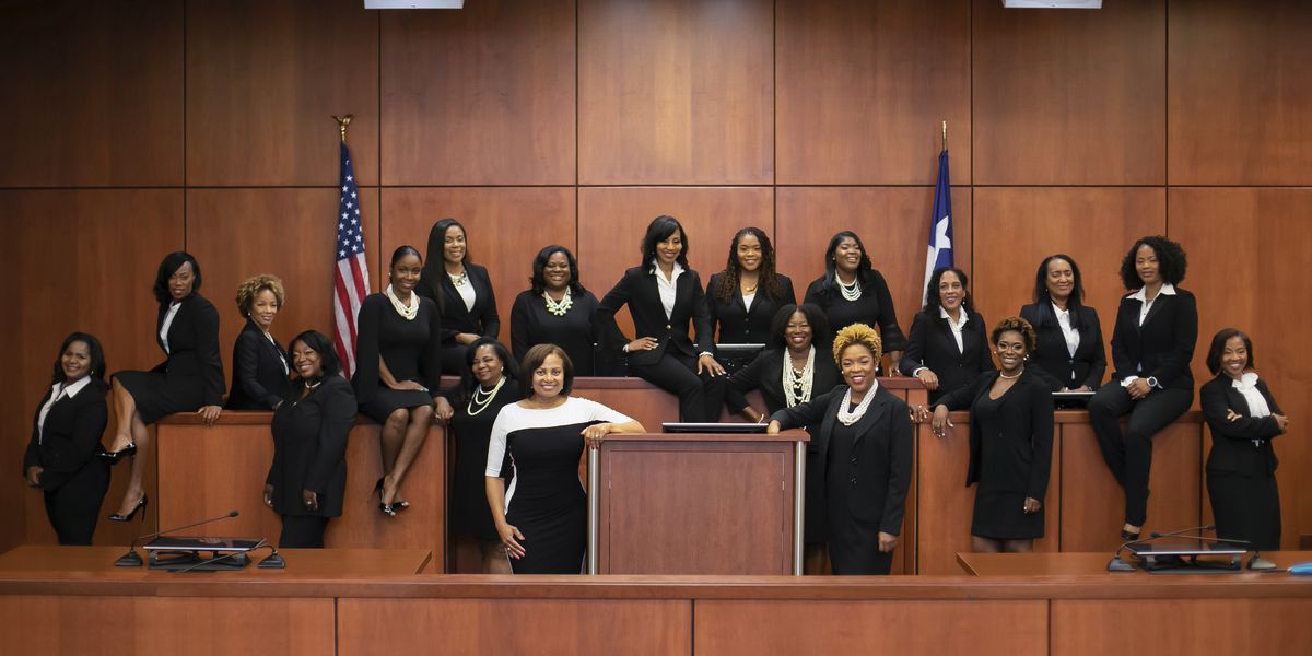 'Magic' campaign lands 17 black women on Houston courts