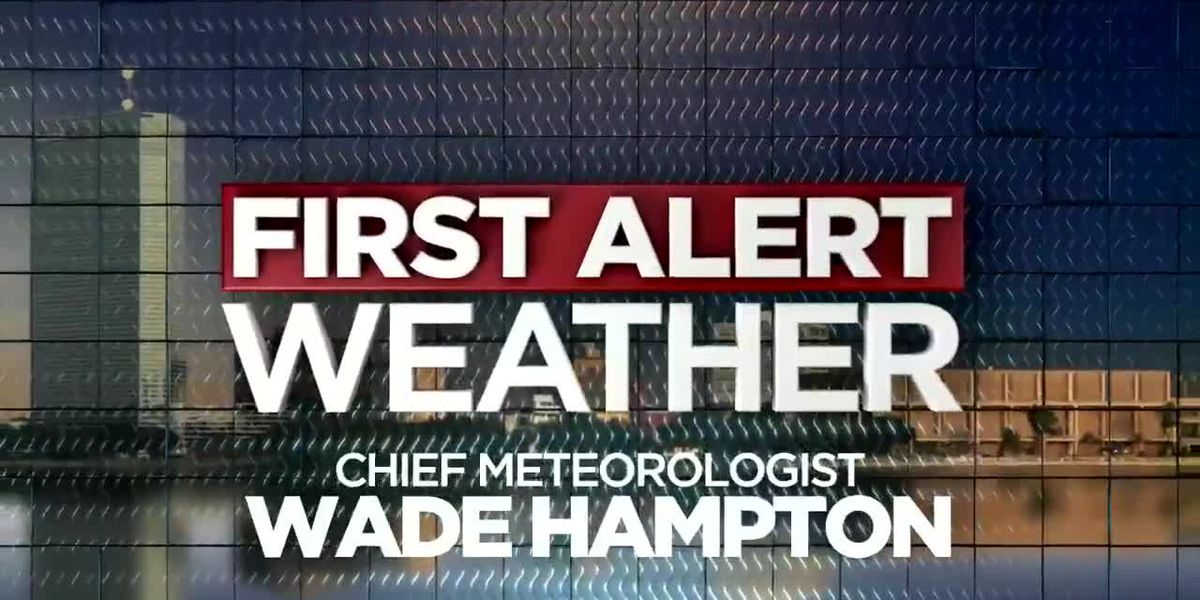 First Alert Forecast: Rain chances will be dropping by this weekend with some heat relief