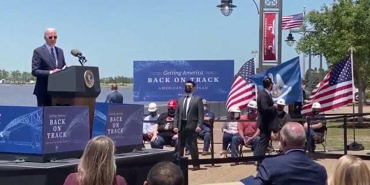 Congressman Higgins on the president's visit to Lake Charles
