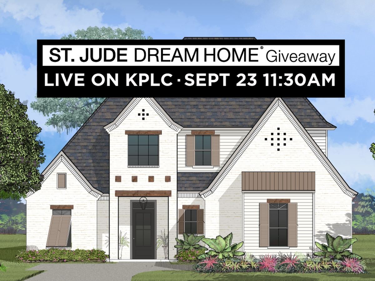 WATCH LIVE: St. Jude Dream Home drawing today