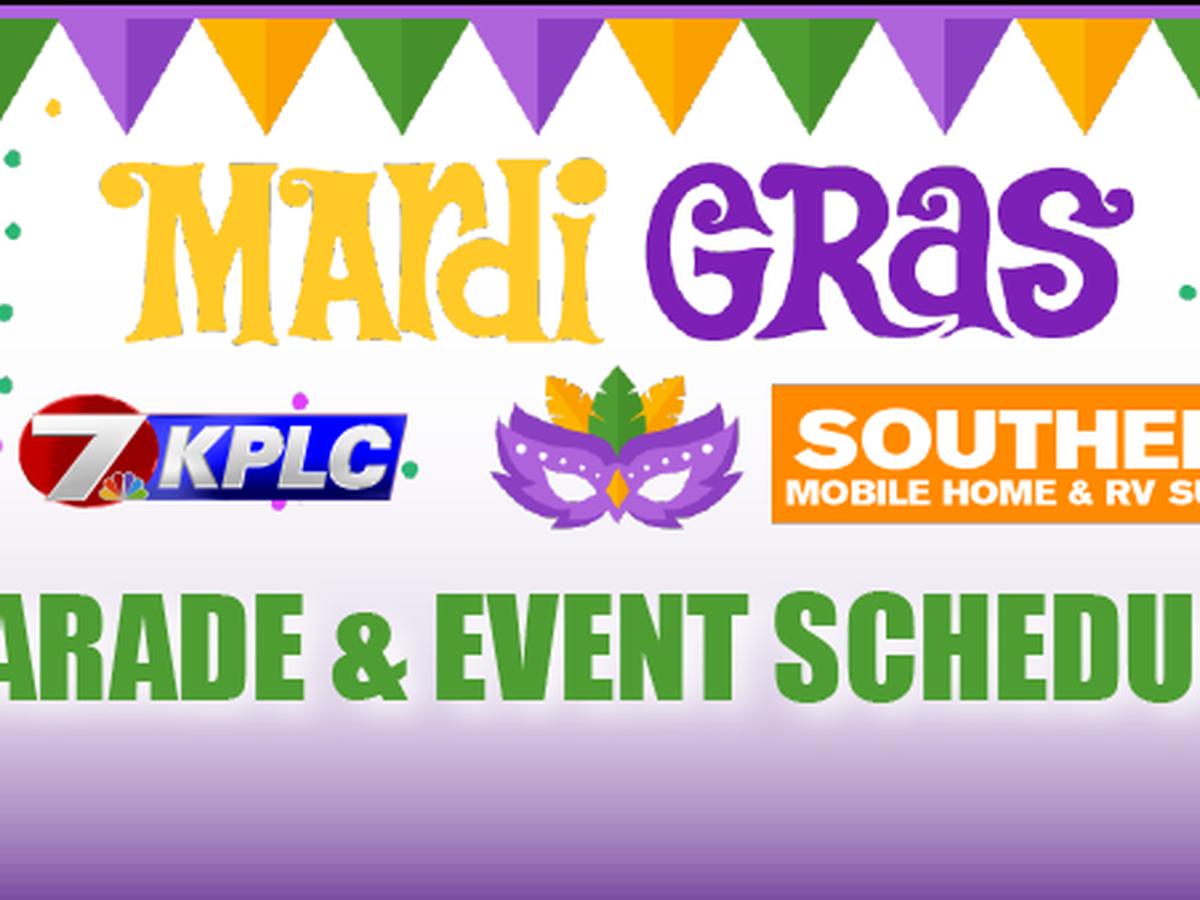 SWLA Mardi Gras 2020 event schedule