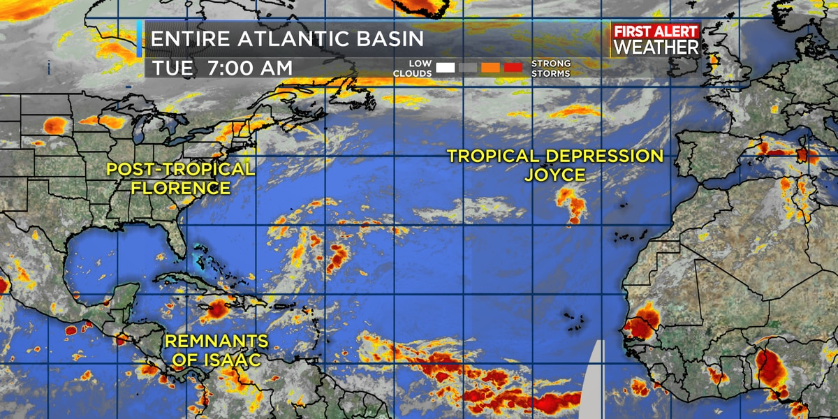 Tropical Update Quieter In The Atlantic For Now But