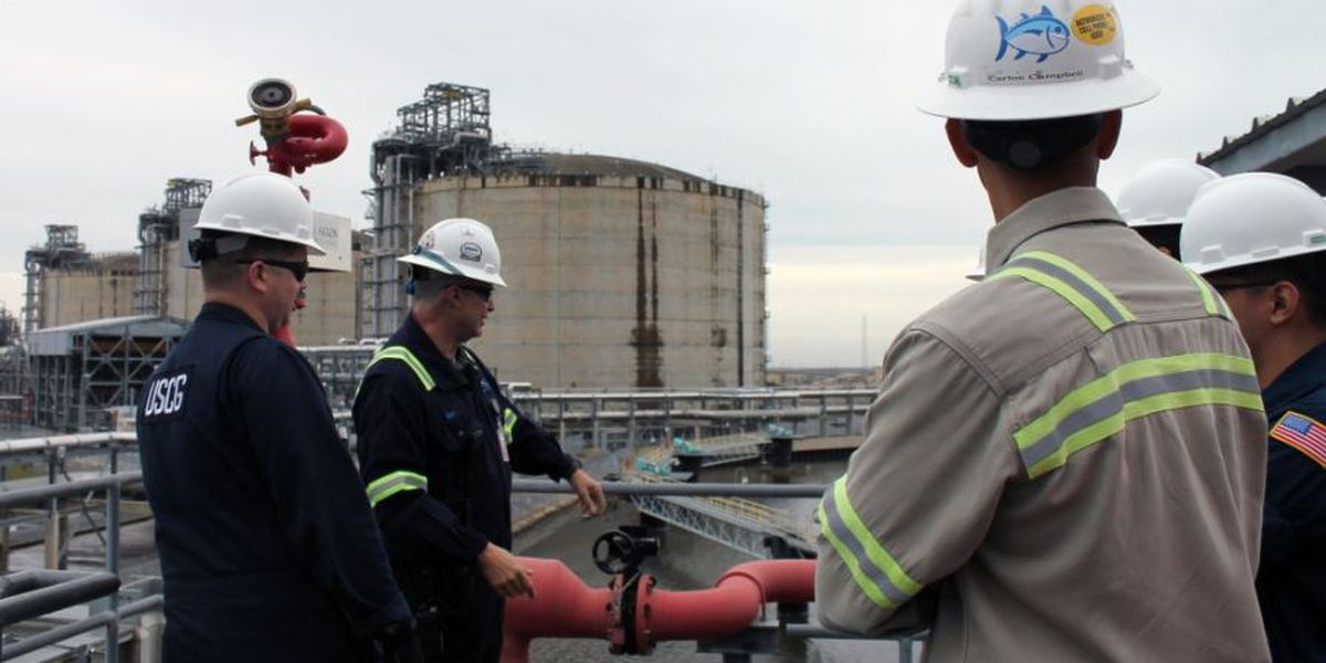 Cameron LNG inspected by Coast Guard ahead of first export