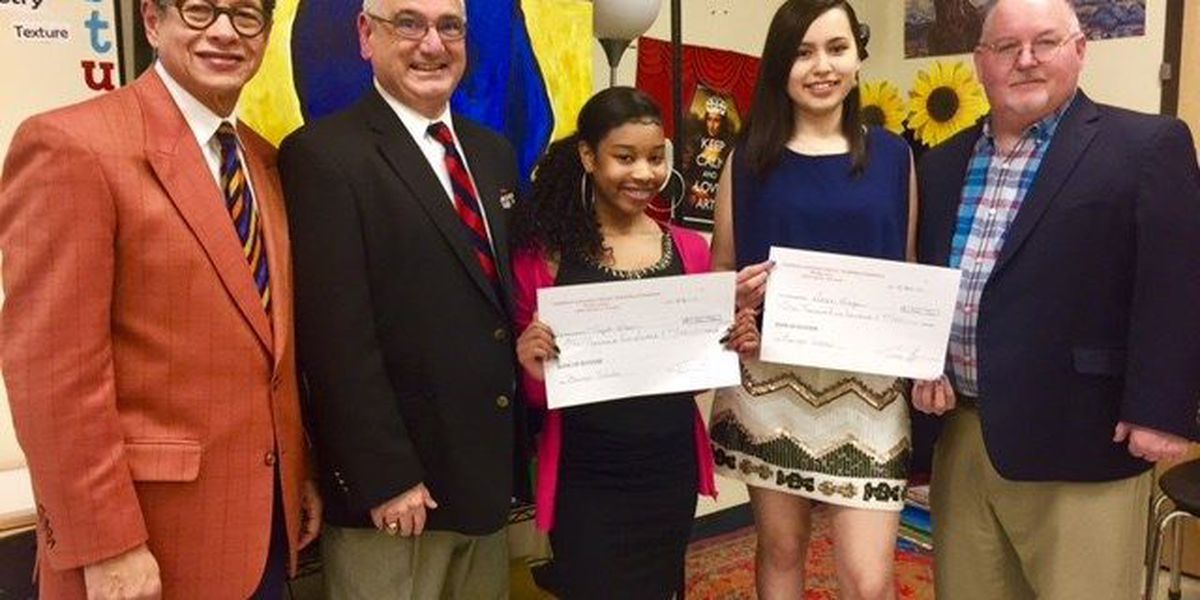 Two LCCP students named Bourque Scholars