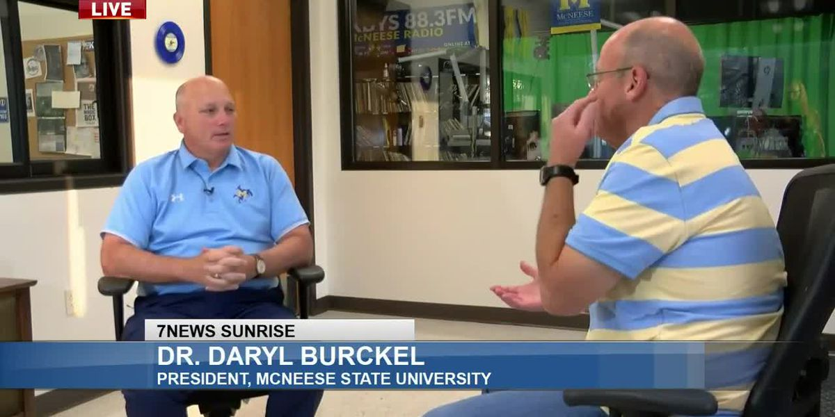 Sunrise Interview: Dr. Daryl Burckel with McNeese State University - Sept. 11, 2020