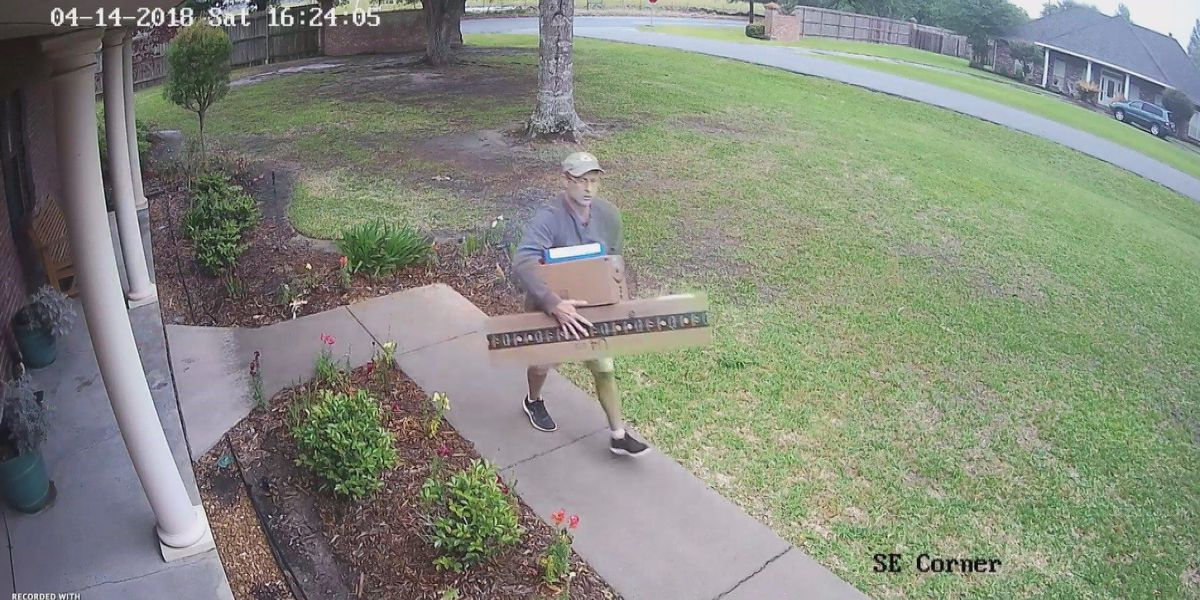 Dozens of homes in south Lake Charles targeted by package thief