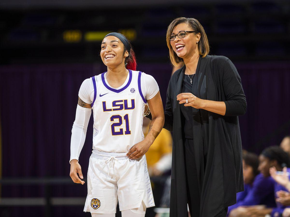 Domonique Davis prepares for year two at LSU