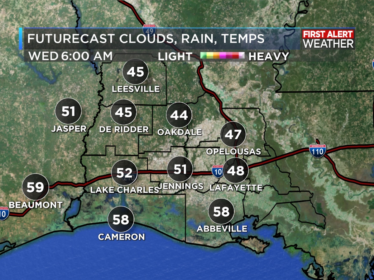 First Alert Forecast: Warming trend continues ahead of cold front Friday
