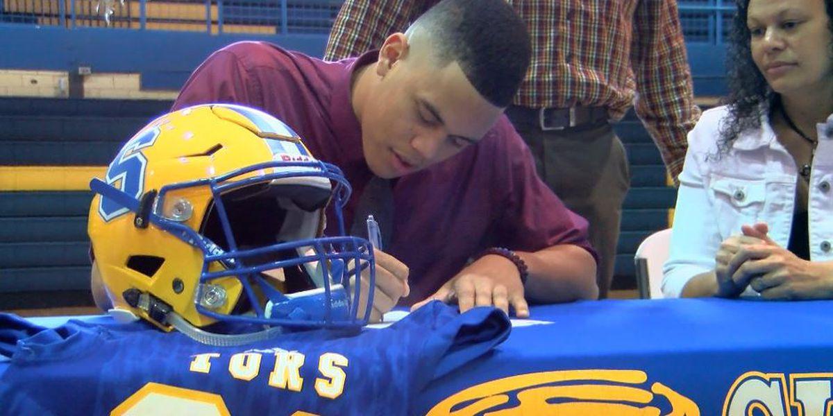 Sulphur alum LaColby Tucker commits to Utah to play football