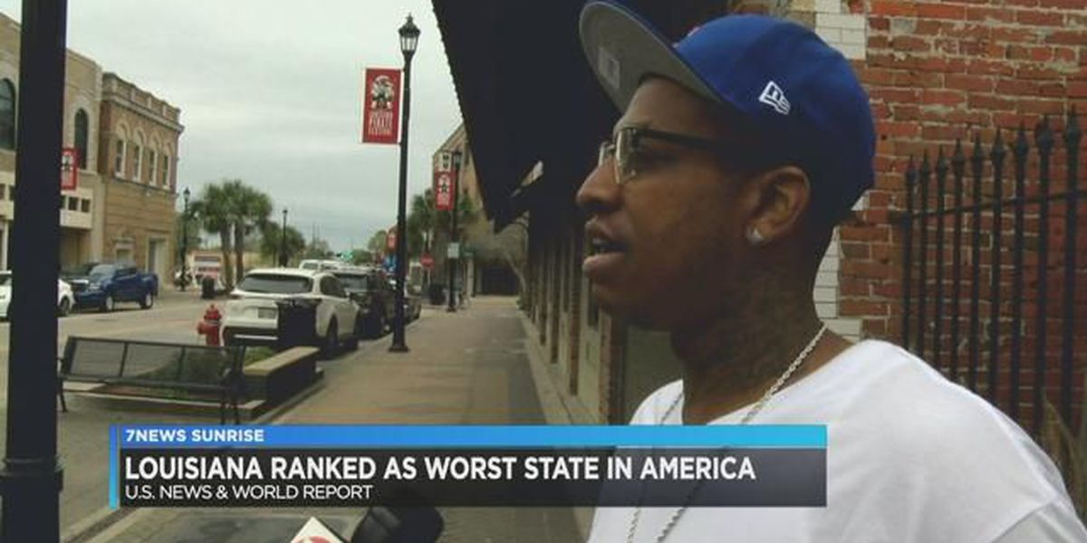 Locals react to Louisiana being ranked the worst state in America