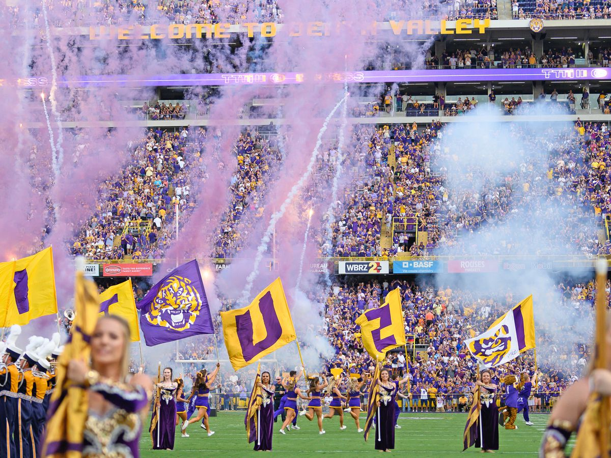 SEC announces early start for LSU vs. Utah State