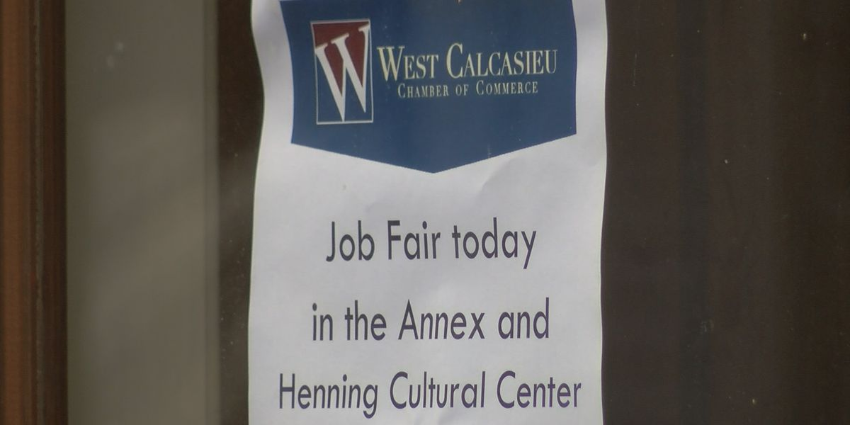 Job fair held for West Calcasieu Parish residents
