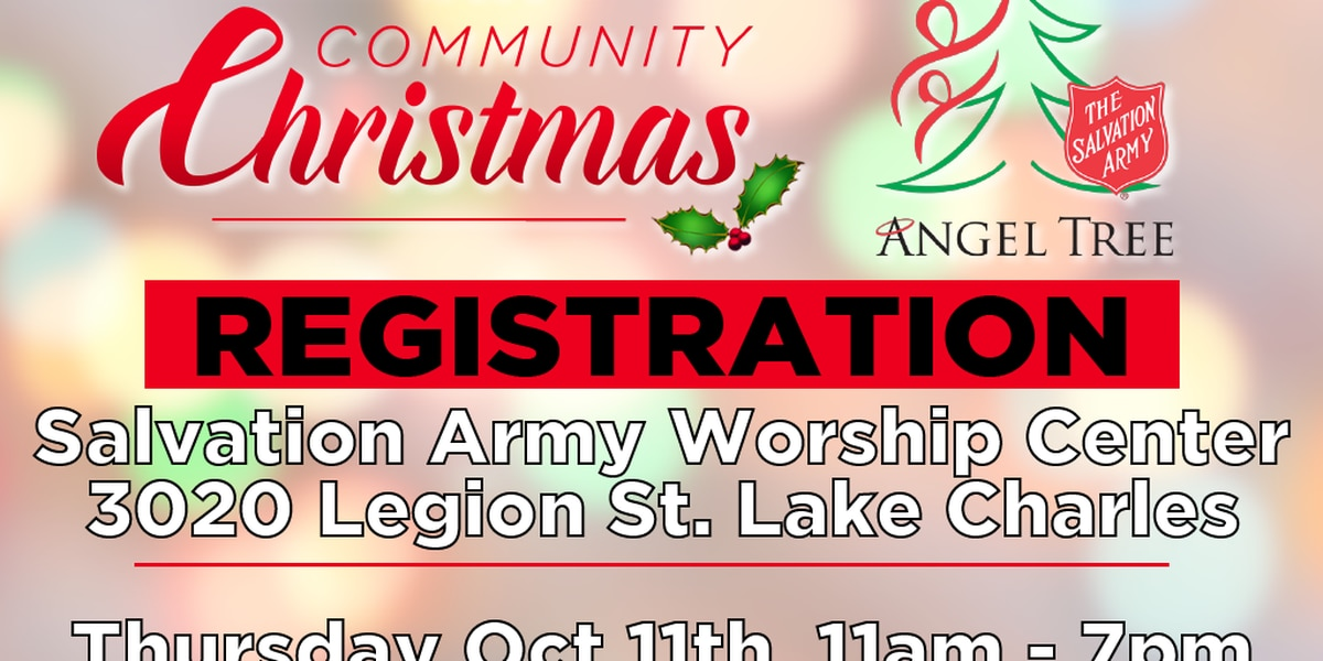 KPLC's Community Christmas & the Salvation Army Angel Tree Registration