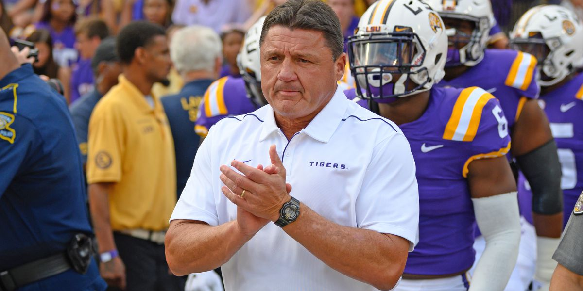 Kickoff time set for Arkansas at No. 1 LSU