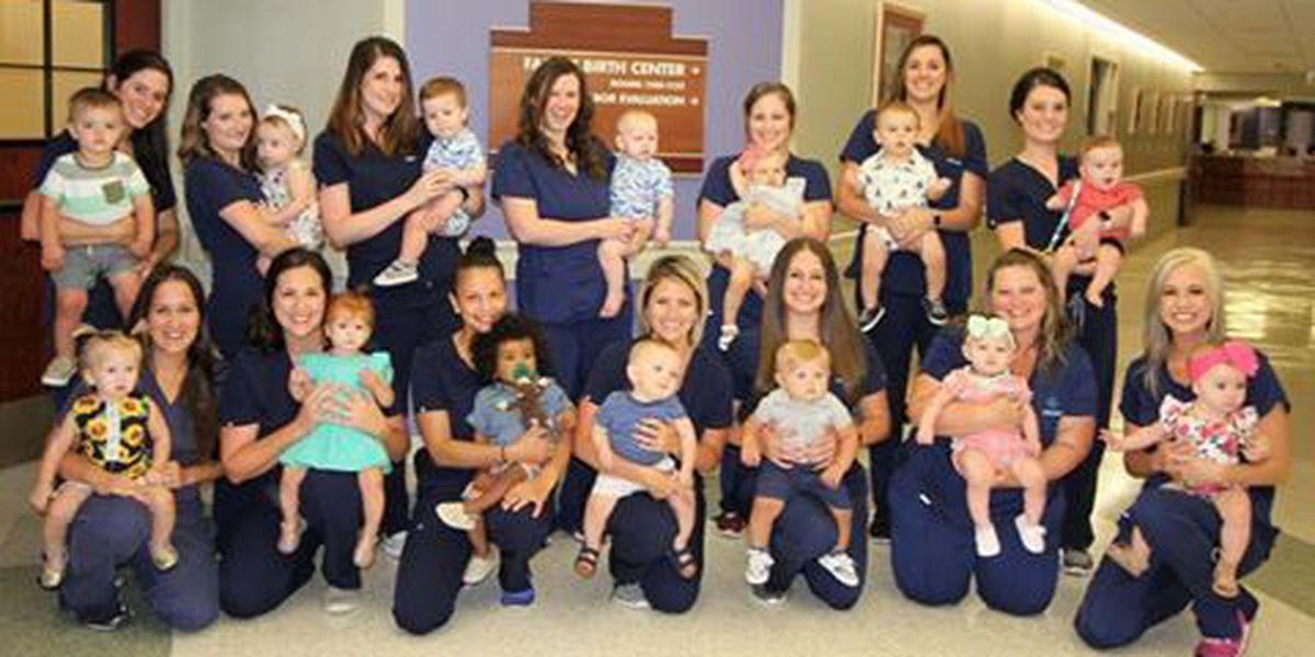 19 nurses at LCMH pregnant at the same time